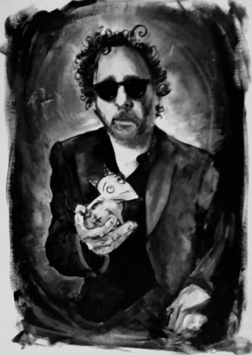 Tim Burton by Laula